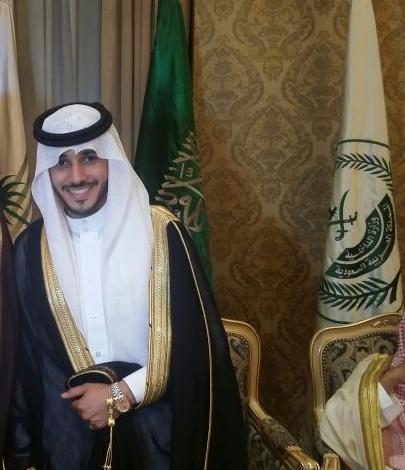 صورة أسرة اليوسف تحتفل بزواج ابنها عبدالعزيز