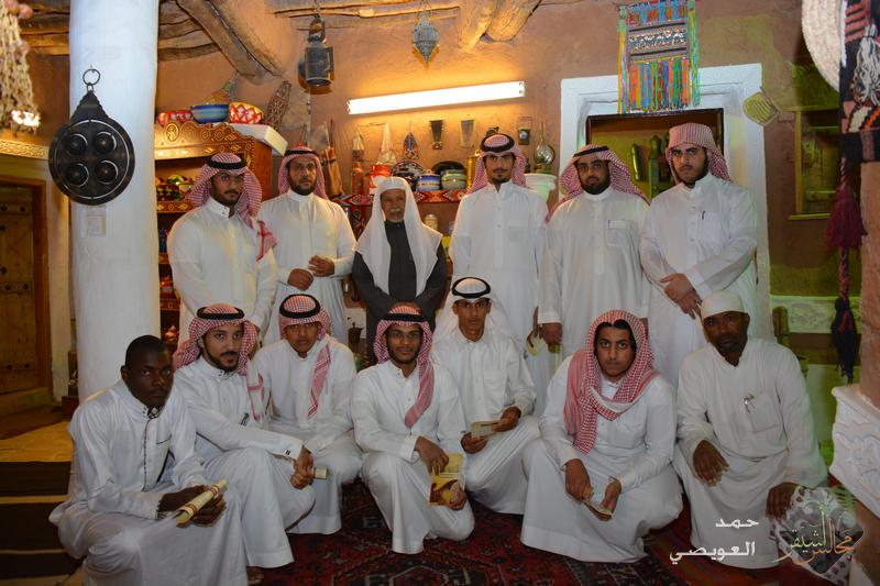 صورة زيارة وفد من جامعة الإمام محمد بن سعود الإسلامية للديرة القديمة