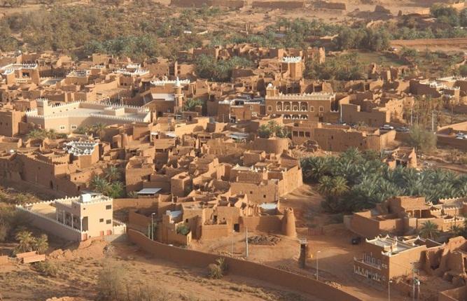 صورة بلدة أشيقر التاريخيّة