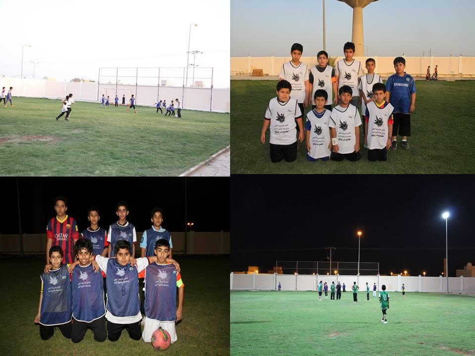 صورة منافسات في كرة القدم بنادي الحي بأشيقر