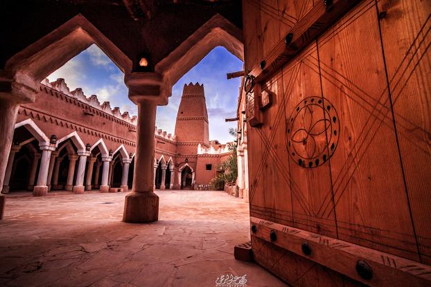 صورة مسجد الفيلقية بقرية أشيقر التراثية