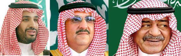 """صورة بأمر الملك: محمد بن نايف ولياً لـ""""ولي العهد"""" ووزيراً للداخلية"""