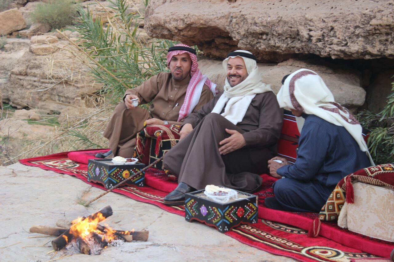 صورة زيارة الأمير مشعل بن محمد بن سعود لبلدة أثيثيه