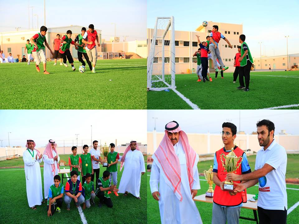 صورة نهائي بطولة المرور بنادي الحي وتكريم الفائزين في البرامج