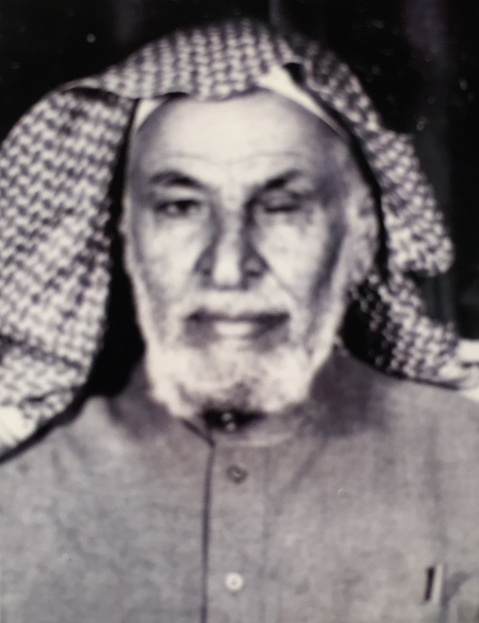 صورة إبراهيم السماعيل .. المعلم والخطيب