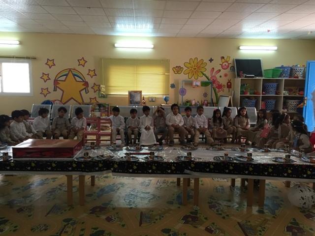 صورة حفل توديع أطفال المستوى الثالث في روضة أشيقر