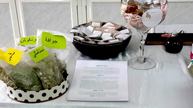 صورة تفعيل مشروع التدواي بالأعشاب النبوية في متوسطة وثانوية أشيقر للبنات