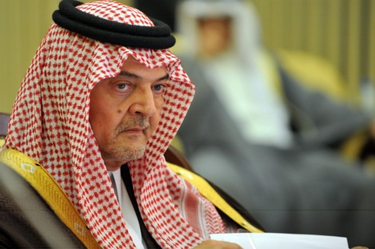صورة الأمير سعود الفيصل إلى رحمة الله تعالى