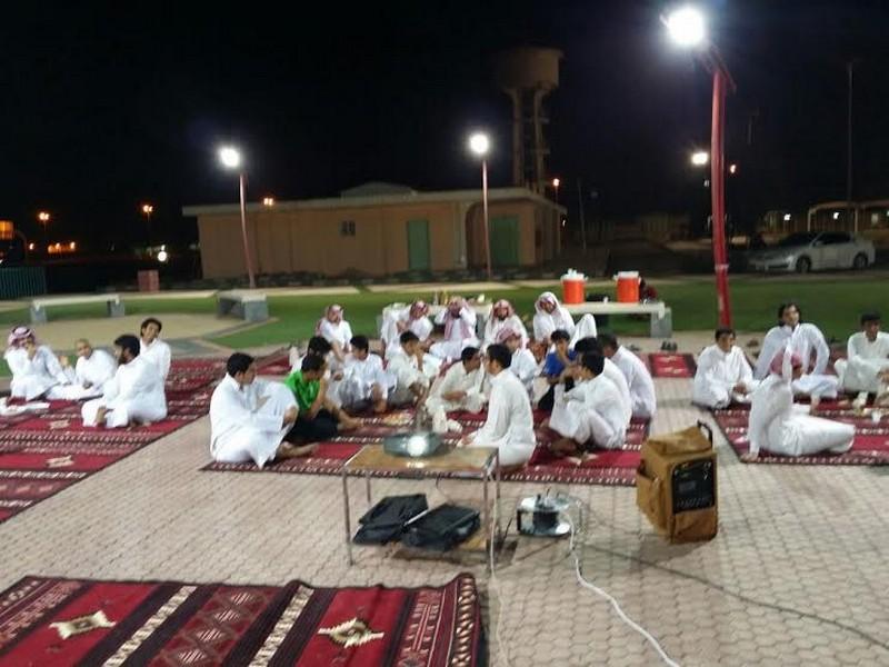 صورة نادي الحي بأشيقر ينفذ مسابقة ثقافية في النادي الموسمي بشقراء
