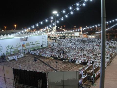 صورة قناة الصحراء تعرض إحتفال أشيقر بالعيد