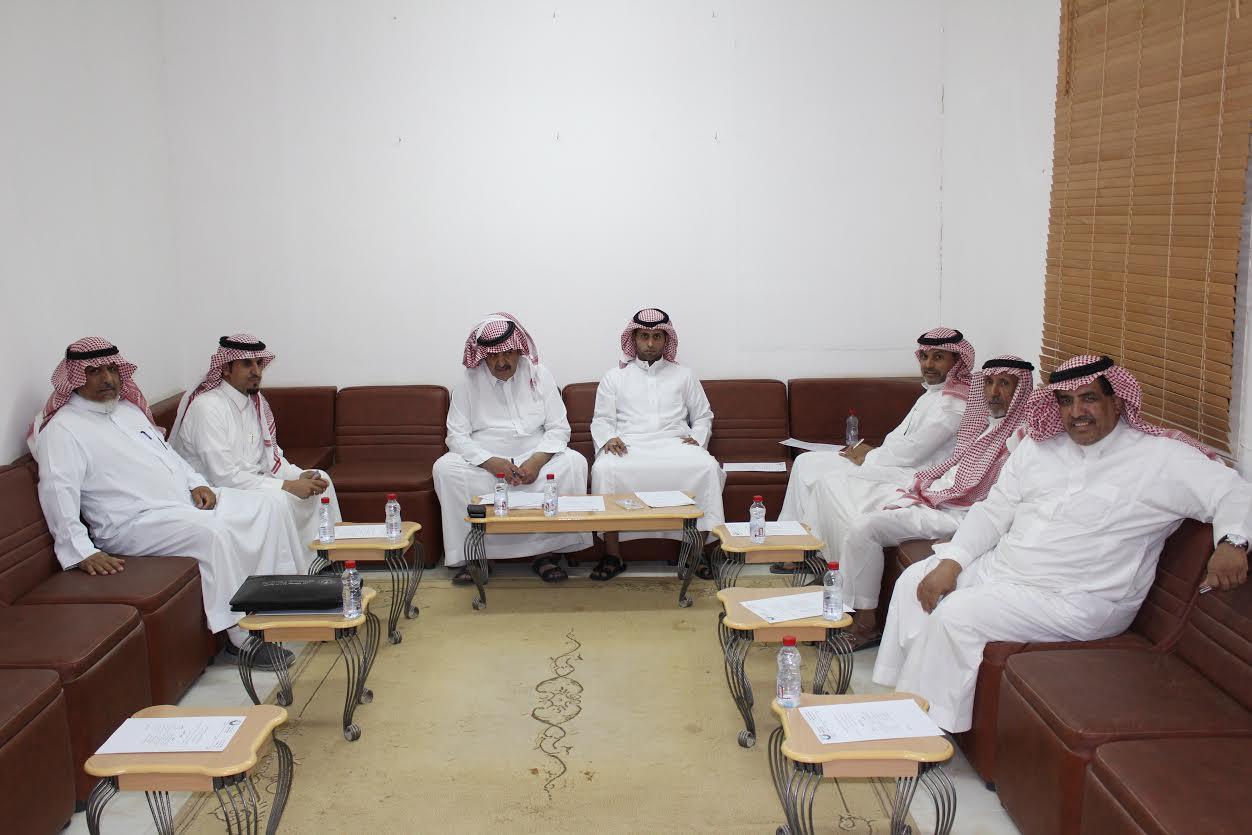 صورة مجلس إدارة نادي أشيقر يعقد أولى إجتماعاته