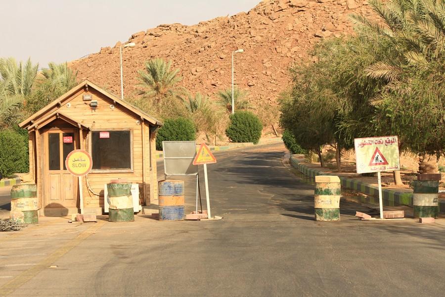 صورة بشرى للأهالي (البلدية تبدأ في تحسين مدخل منتزة الجبل)