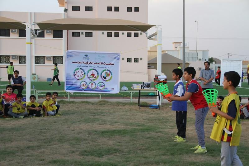 صورة منافسات الألعاب الحركية للبراعم في نادي الحي بأشيقر