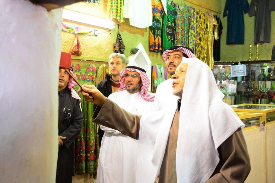 صورة البلدية والمجلس البلدي يكرمون الشيخ حمد السالم