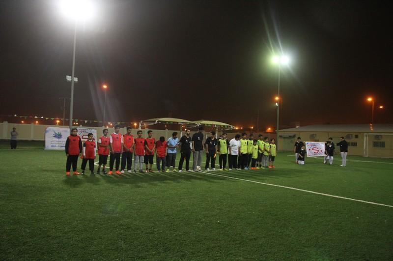 صورة برعاية محلات المقرن للرياضة اختتام دوري كرة القدم في نادي الحي بأشيقر