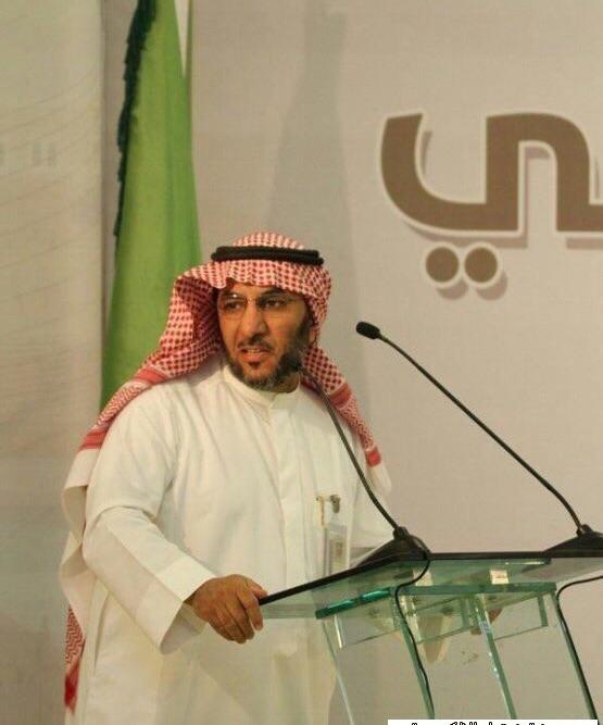 صورة مكتب محمد قطان يشكر رئيس المجلس البلدي بأشيقر سابقا
