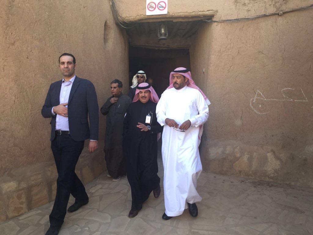 صورة وفد من وزارة السياحة المغربية يزور مدينة أشيقر