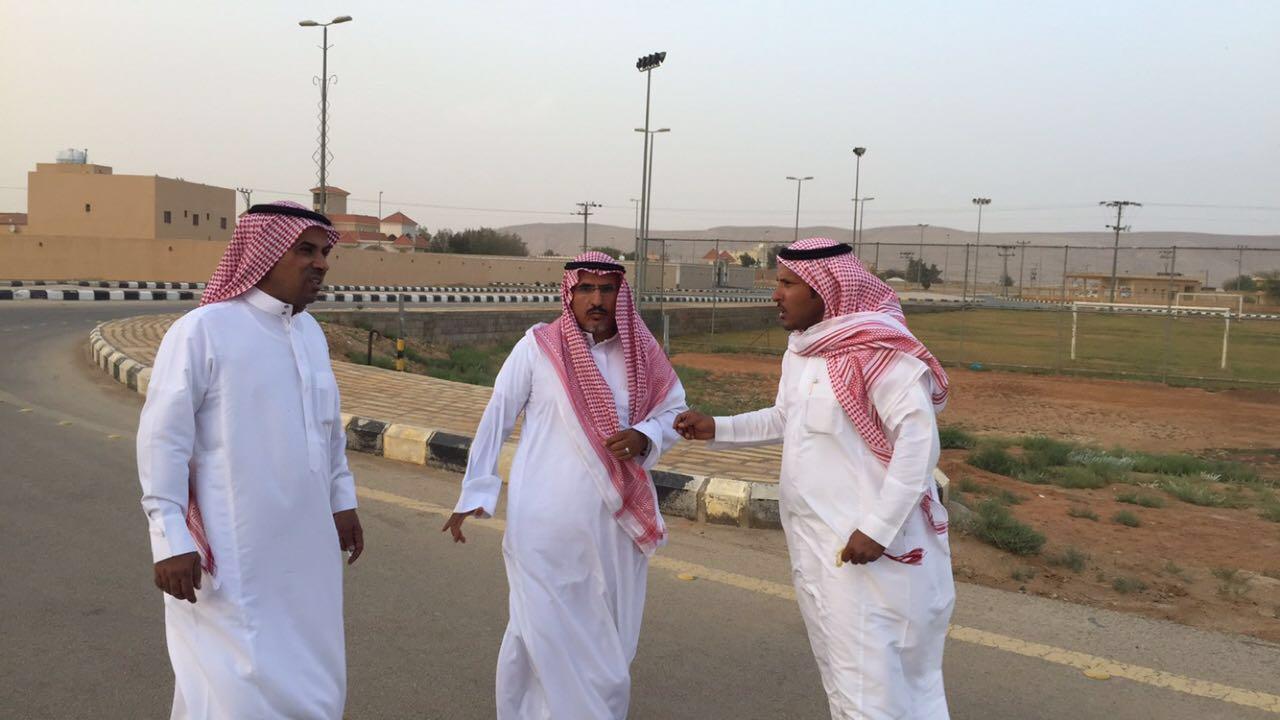 صورة المجلس البلدي بأشيقر يطلع على سير العمل بمدينة الداهنة