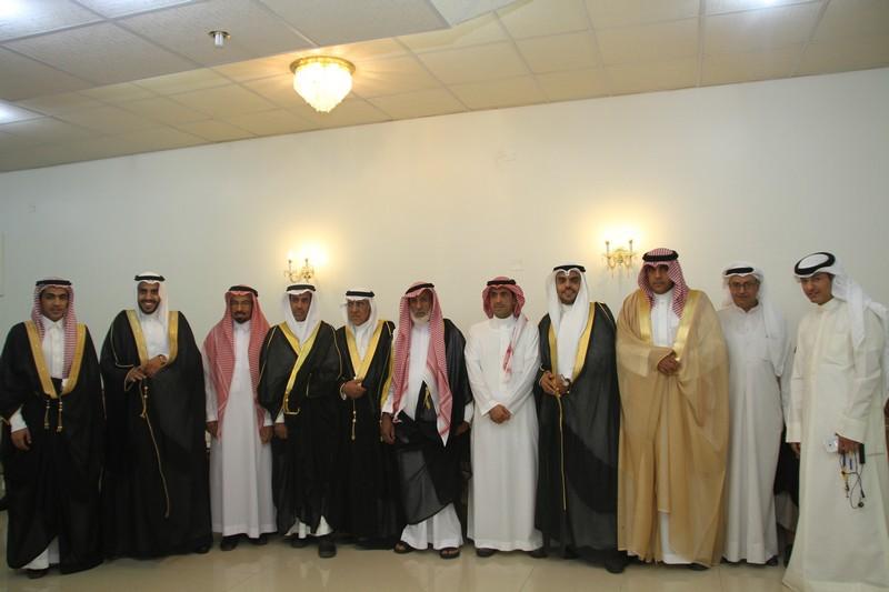 صورة متعب القصيّر يحتفل بزواجه على كريمة عبدالعزيز السلوم