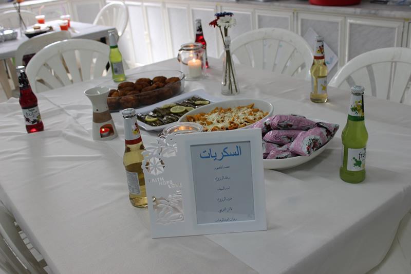 صورة مشروع العناصر الغذائية في ثانوية أشيقر للبنات