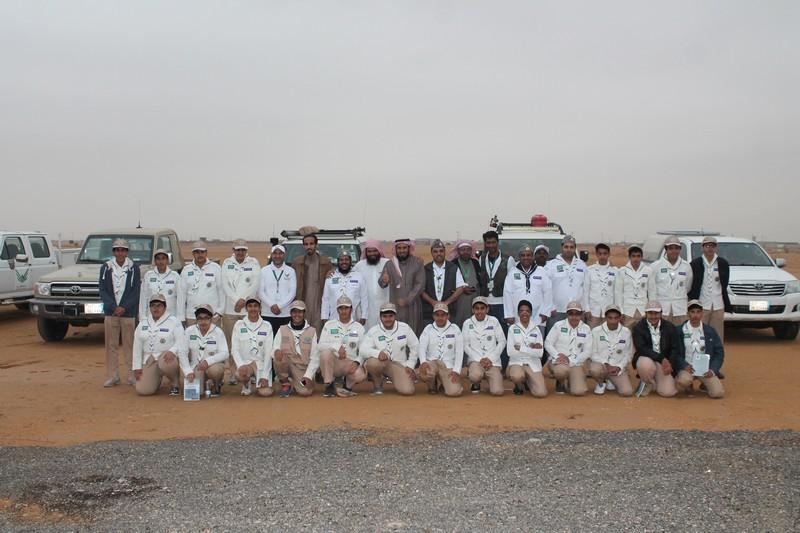 صورة نادي الحي بأشيقر يزور مقر فريق غوث التطوعي