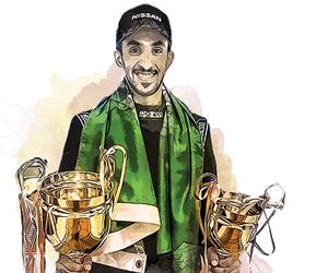صورة فهد العبداللطيف يتحدى البكم ويتوج بكأس الأخلاق في رالي حائل