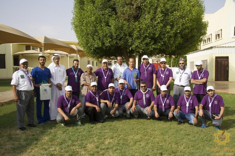 صورة زيارة مجموعة من القاده الكشفيين لمحافظة شقراء وقرية أشيقر التراثية