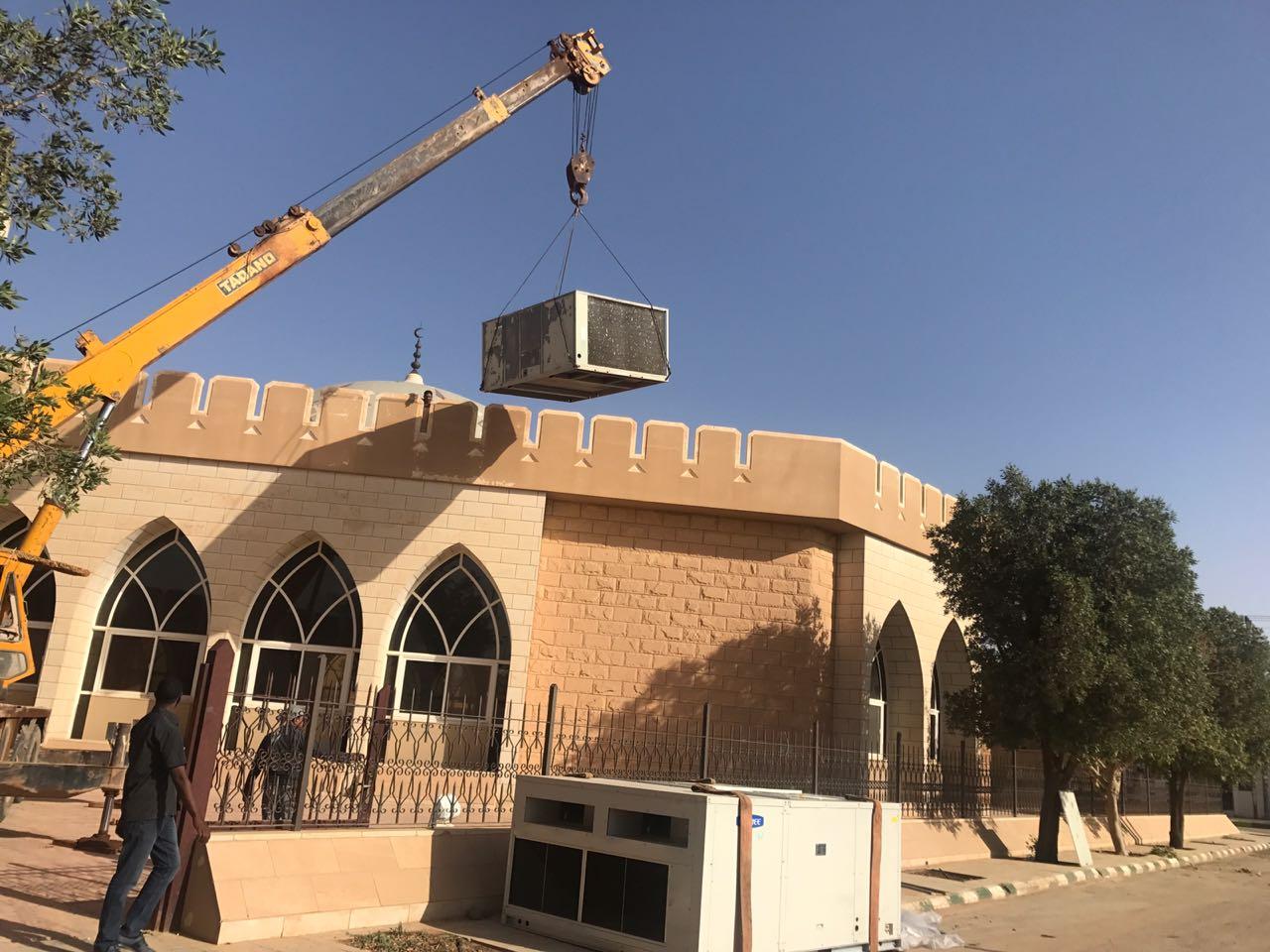 صورة بتكلفة تجاوزت 300000 ريال وبدعم من المحسنين جمعية أشيقر الخيرية تنهي أعمالها في ترميم جامع أشيقر