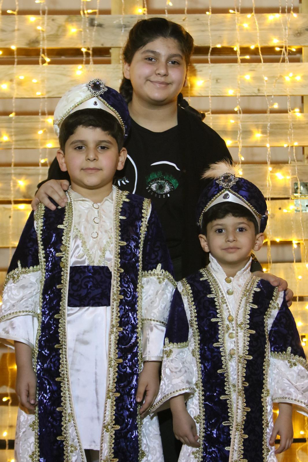 صورة أستديو للأطفال في مهرجان الحلاوي بأشيقر