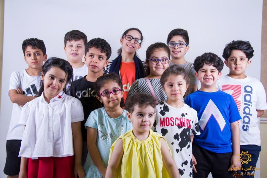 صورة كعادته السنوية موقع مجالس أشيقر يعايد الحضور بمهرجان الطفل