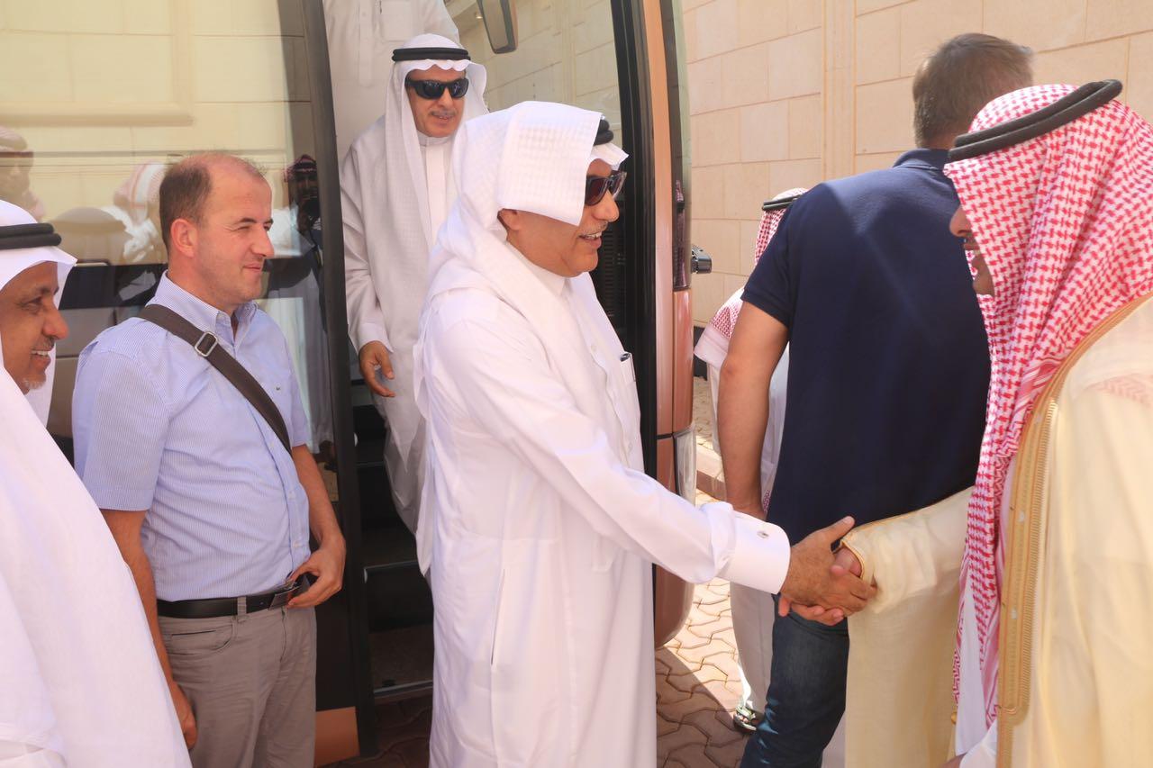 صورة أعضاء من لجنة الصداقة الكرواتية-السعودية يزورون شقراء واشيقر