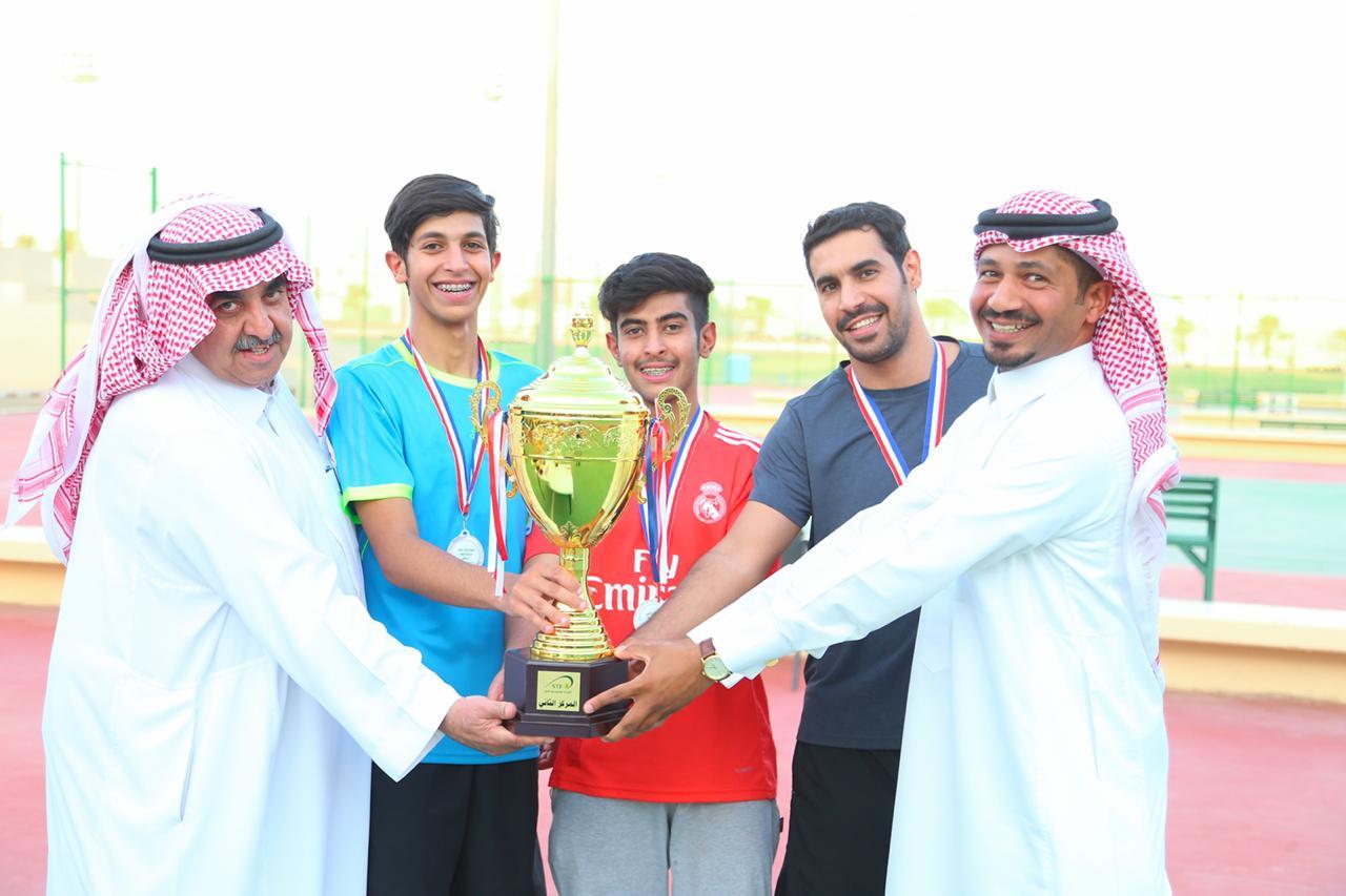 صورة تأهل فريق التنس الأرضي بنادي أشيقر لتصفيات المملكة