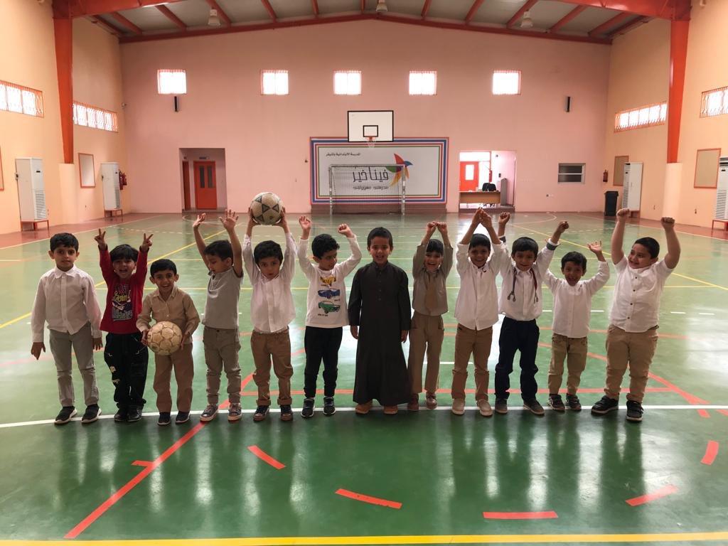 صورة المدارس الابتدائية تستقبل أطفال الروضة الأولى بأشيقر