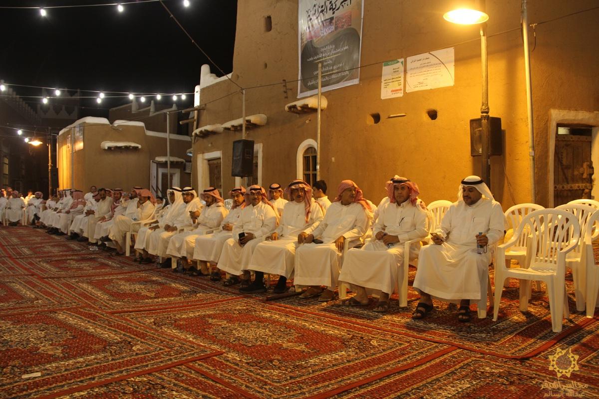 صورة لجنة التنمية بأشيقر تنظم مهرجان القرية التراثية مساء العيد