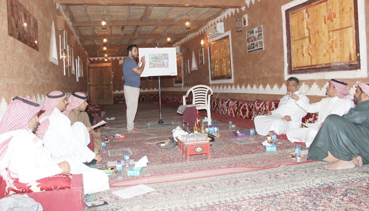 صورة اللجنة المنظمة لمهرجان ربيع أشيقر تعقد الاجتماع الأول استعداداً للمهرجان