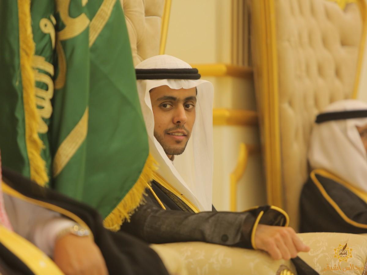 صورة يزيد البريثن يحتفل بزواجه على كريمة عبدالله الشنيبر