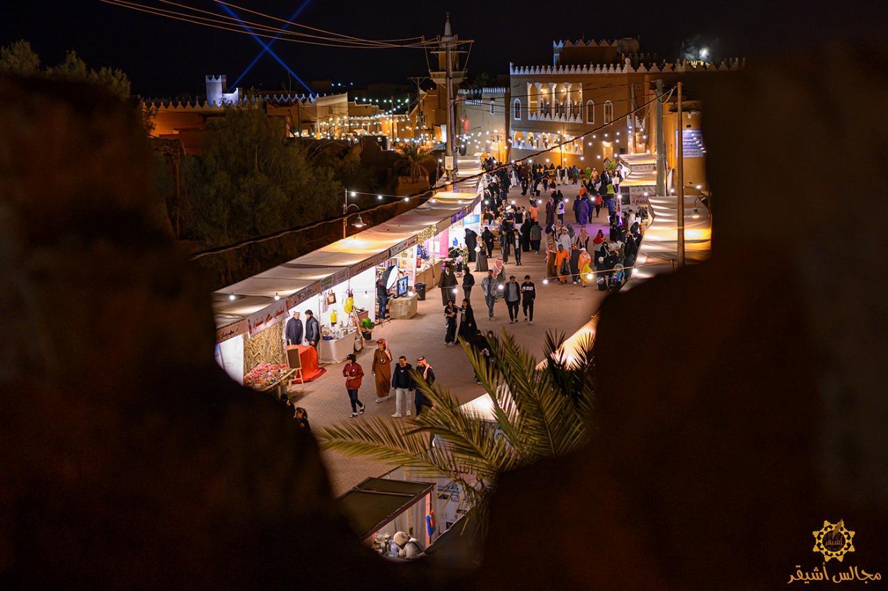 صورة انطلاق مهرجان ربيع أشيقر بحضور محافظ شقراء
