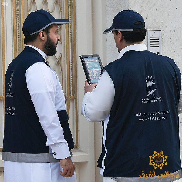 صورة «الإحصاء» تبدأ في ترقيم المباني تمهيداً لإجراء «تعداد السعودية 2020»