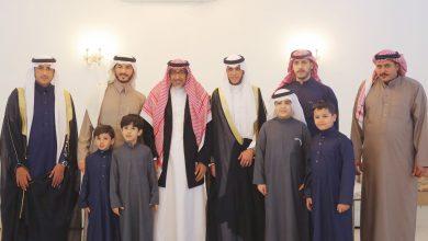 صورة الشاب/صالح بن سليمان الحميّد يحتفل بزواجه