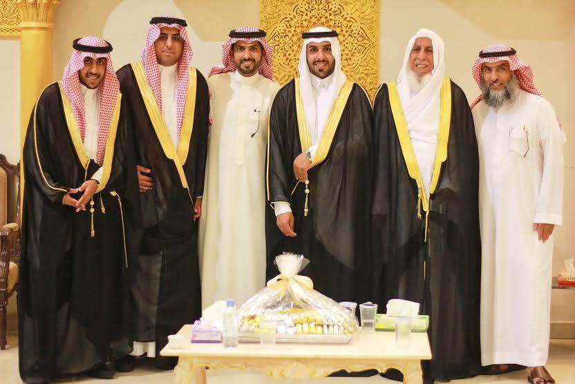 صورة عبدالعزيز العنقري يحتفل بزواجه