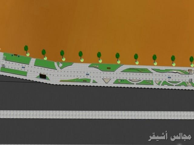 صورة بلدية أشيقر تبدأ في إنشاء ممرات للمشاة في أشيقر