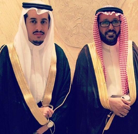 صورة عبدالعزيز العبداللطيف يحتفل بزواجه